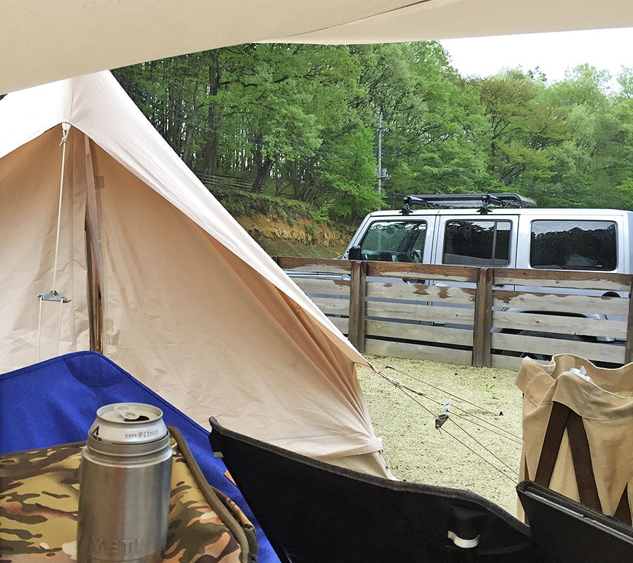 JEEP キャンプ